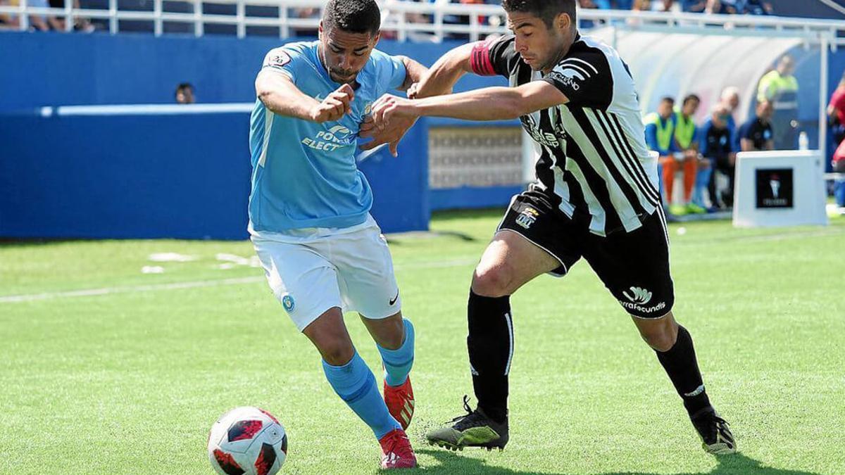 Raí Nascimento, con el Ibiza la pasada temporada.