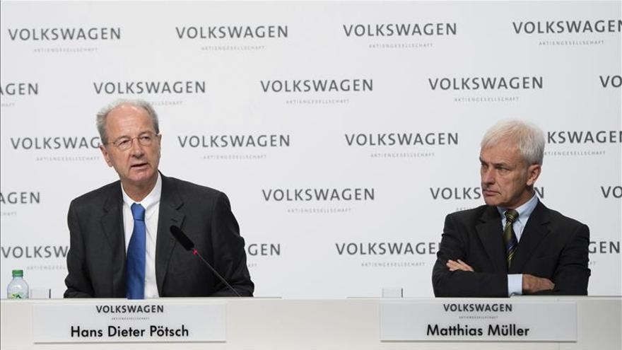 El presidente de Volkswagen garantiza las inversiones en las fábricas en España
