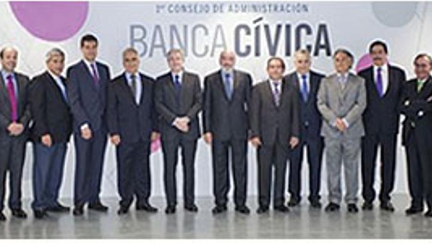 Consejo de administración de Banca Cívica. (EP)