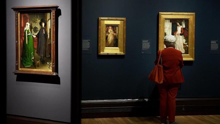 La influencia artística de las fascinaciones de Van Eyck llega a Londres