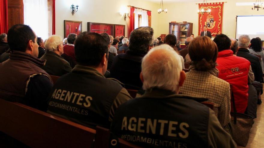 Reunión, hoy, en Cogolludo (Guadalajara)