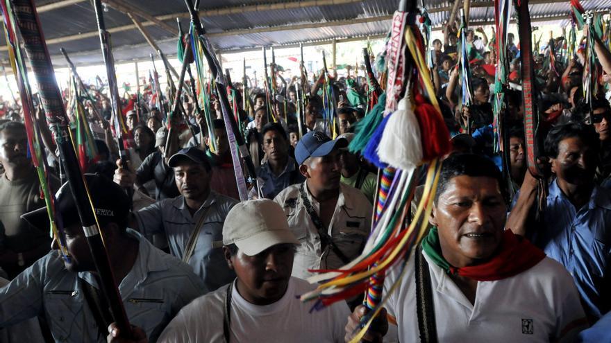 El Gobierno colombiano y los indígenas del Cauca inician las negociaciones