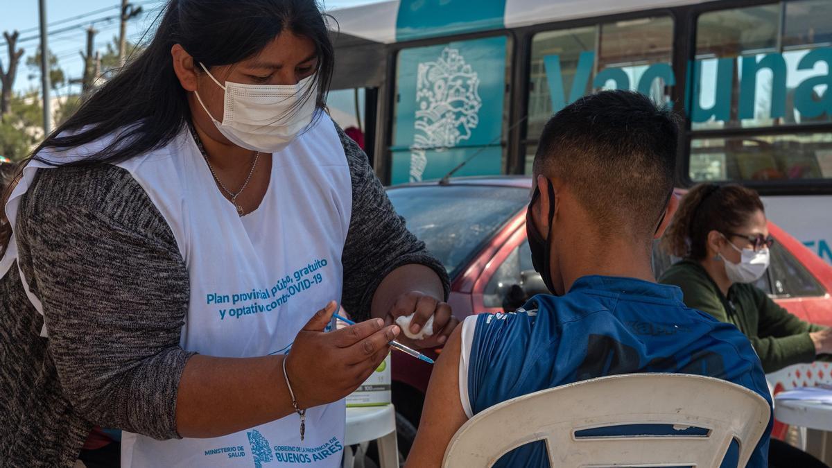 La vacunación avanza en todo el país.