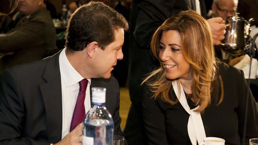 Emiliano García-Page y Susana Díaz en una imagen de archivo