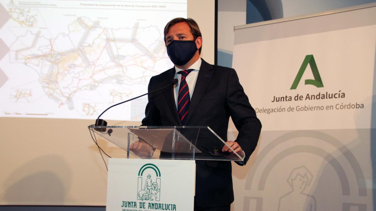 El delegado del Gobierno en Córdoba, Antonio Repullo.
