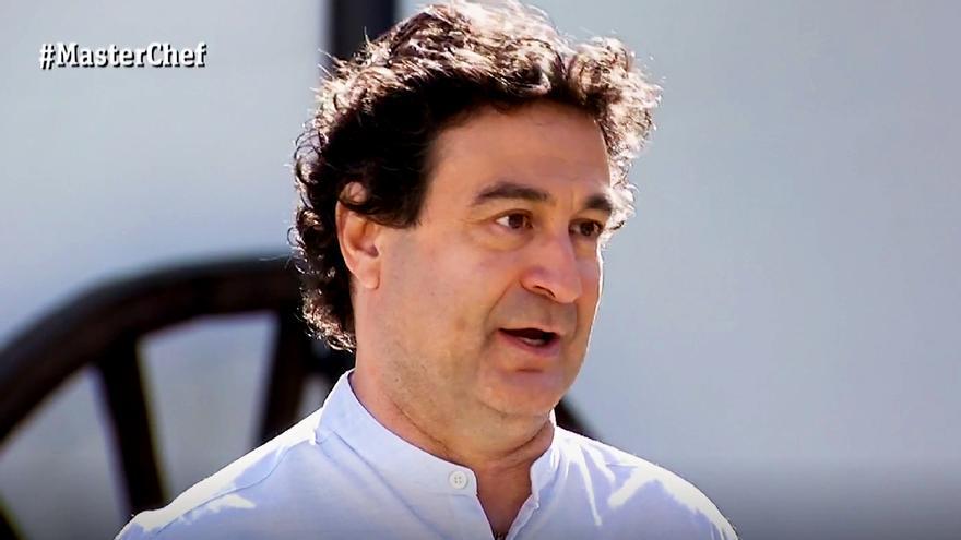Pepe Rodríguez en la final de 'Masterchef'