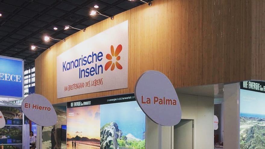 La Palma en la feria especializada en naturaleza y senderismo Tournatur de Düsseldorf.
