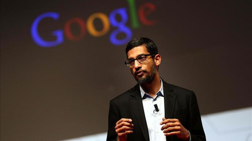 El consejero delegado de Google recibe un paquete de acciones por 199 millones de dólares