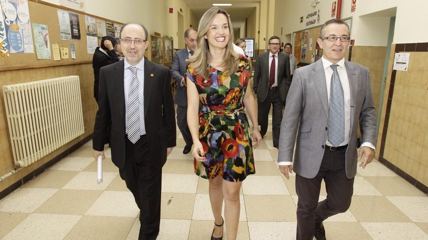 La consejera de Innovación, Investigación y Universidad, Pilar Alegría.