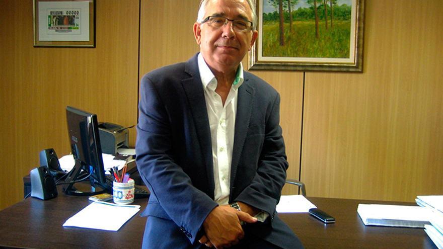Jesús Senante Macipe, alcalde de Caspe.