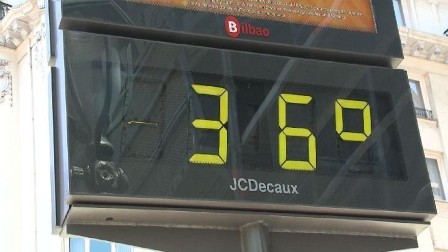 Euskadi activa este lunes el aviso amarillo por temperaturas altas extremas que podrían alcanzar los 36 grados
