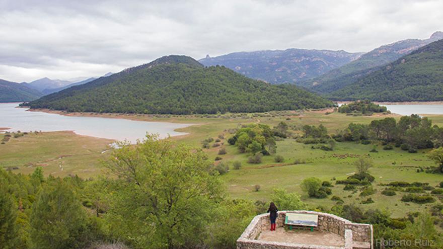 Mirador Félix Rodríguez de la Fuente, Embalse del Tranco, Sierra de Cazorla