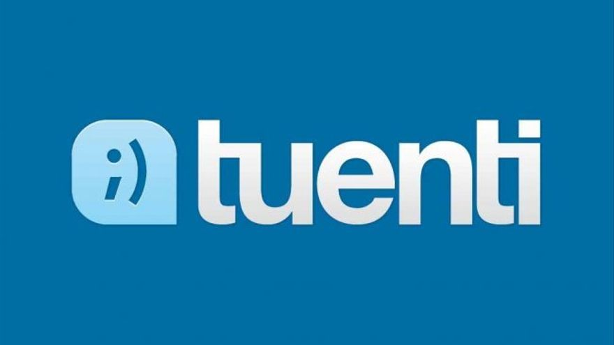 Logo de la antigua red social Tuenti