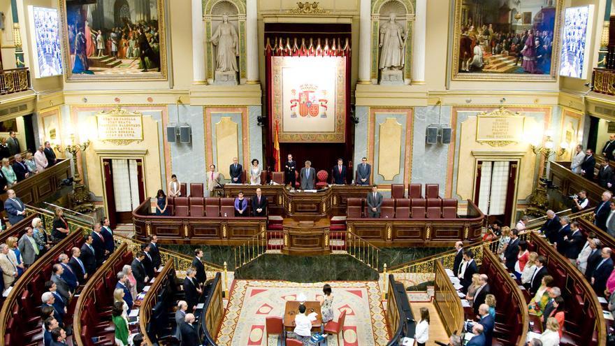 Reunión del Pleno del Congreso de los Diputados.