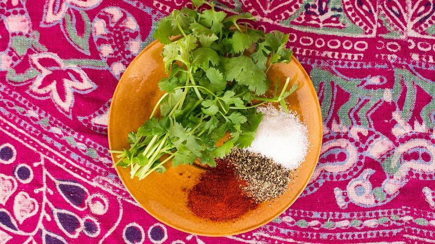 Más ingredientes de esta receta de tacos con pescado