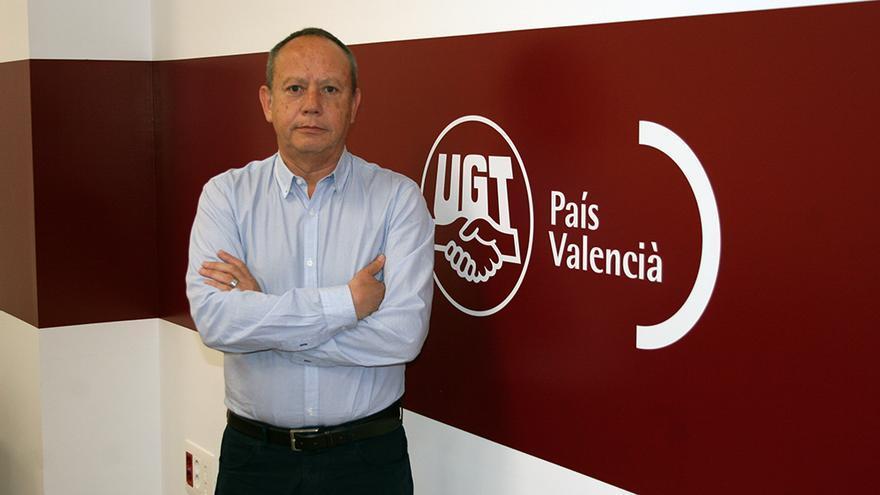 Ismael Sáez, secretario general de UGT-PV