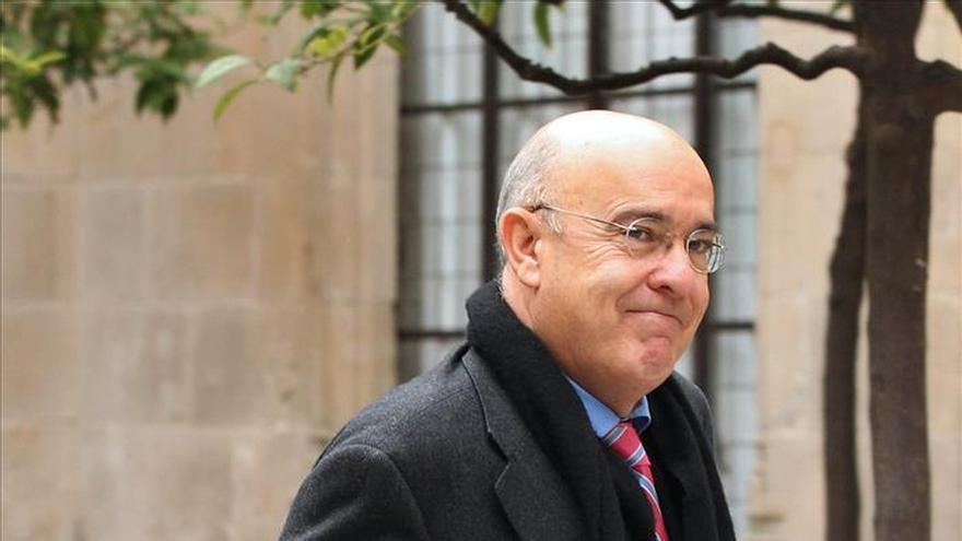El exconseller de Salud, Boi Ruiz