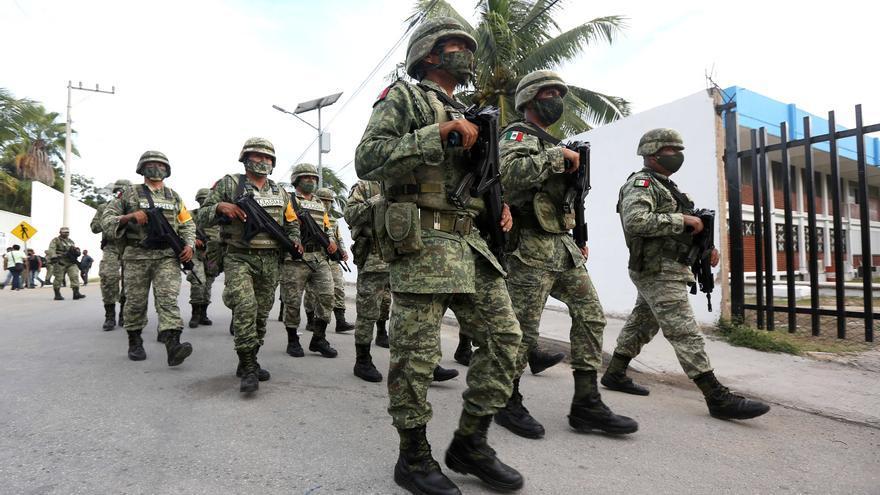México despliega centenares de efectivos en el sureste por el huracán Grace