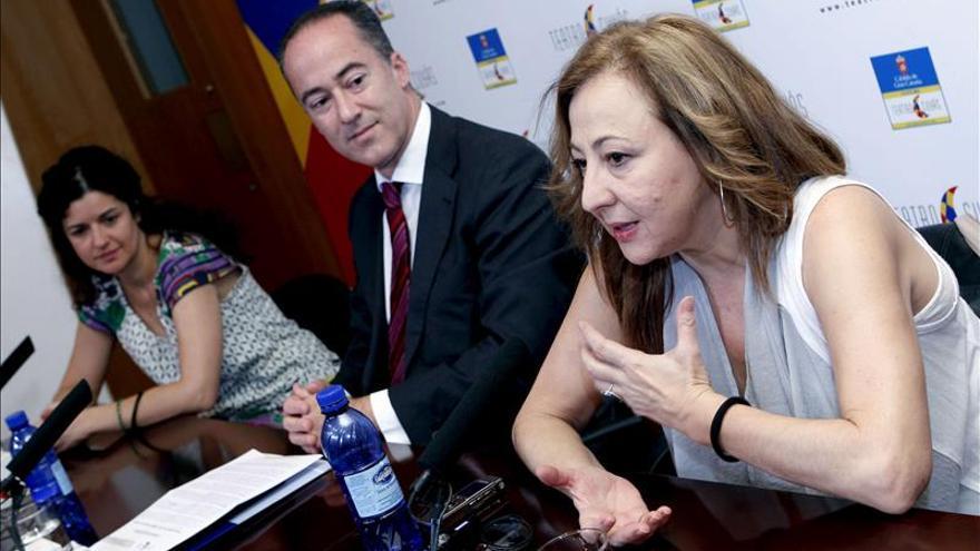 Carmen Machi dice que el teatro vive un momento buenísimo a pesar de las dificultades