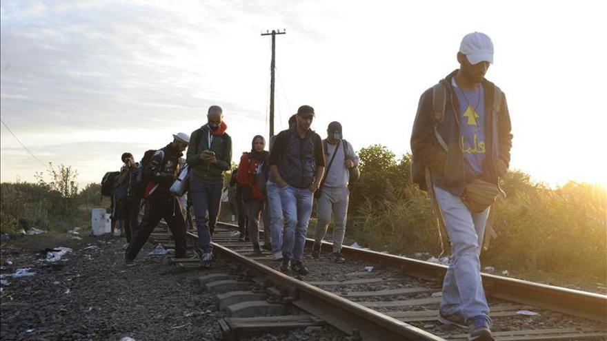 Hungría registró ayer más de 2.700 nuevos refugiados de camino a Occidente