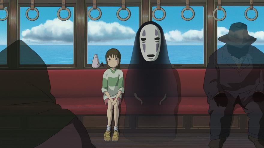 Escena de 'El viaje de Chihiro'.