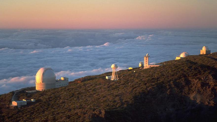 Las cumbres de La Palma contarán con dos nuevos telescopios.
