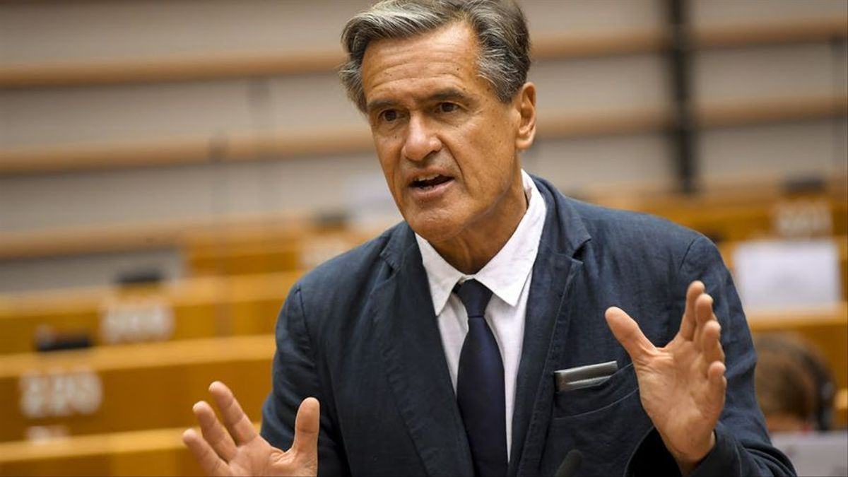 Juan Fernando López Aguilar en el Parlamento Europeo