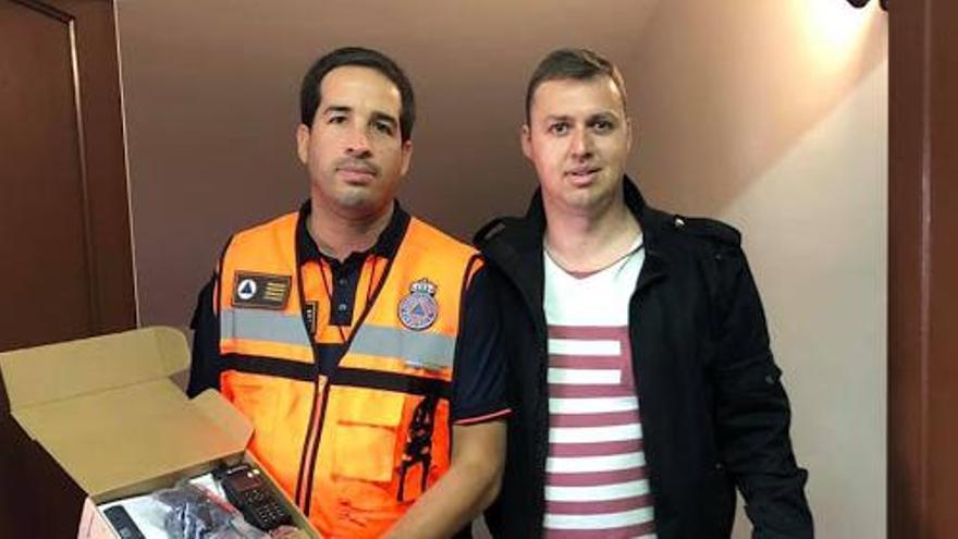 """El concejal de Servicios Sociales de Garachico se vacuna contra la COVID-19 por """"responsabilidad"""""""