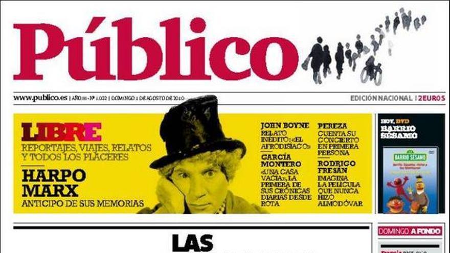 De las portadas del día (01/08/2010) #12
