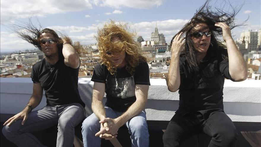 """Dave Mustaine cree que """"con más amor, el mundo se arreglaría solo"""""""