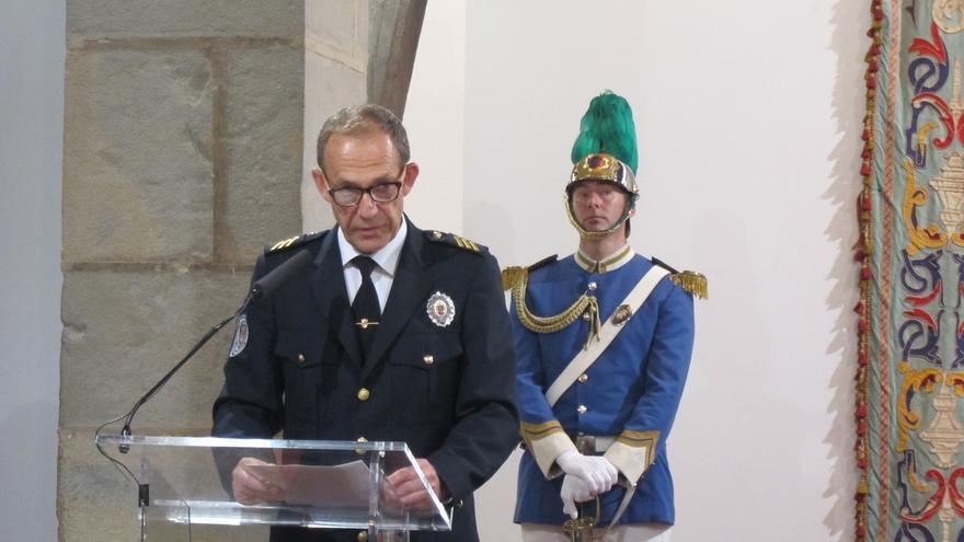 """El jefe de la Policía Municipal de Pamplona """"ve con buenos ojos"""" el modelo policial que plantea la Ley de Policías"""