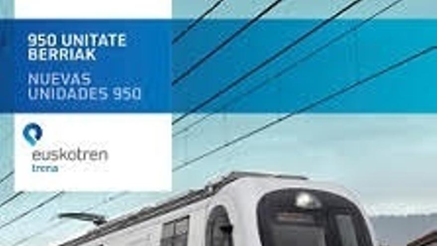 Euskotren celebrará este sábado una jornada de puertas abiertas en la línea del Txorierri (Lutxana-Lezama)