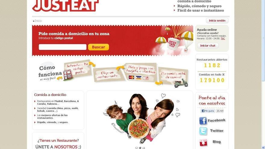 Just Eat adquiere Sindelantal, su principal competidor en España
