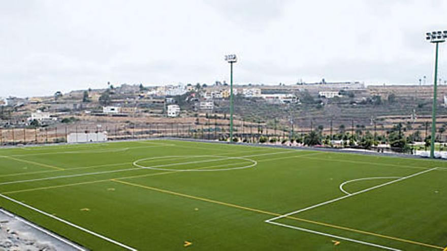 Campo de fútbol en Las Palmas de Gran Canaria.