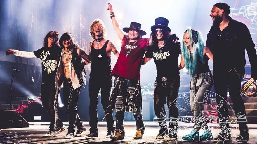 Vendidas en las 10 primeras horas más de la mitad de las entradas para el concierto de Guns N'Roses en San Mames