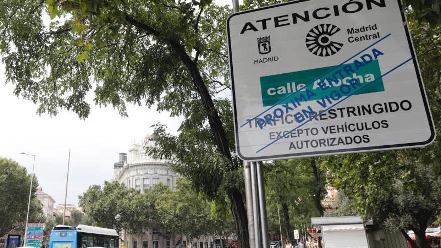 La Justicia rechaza paralizar Madrid Central antes de que empiece a funcionar