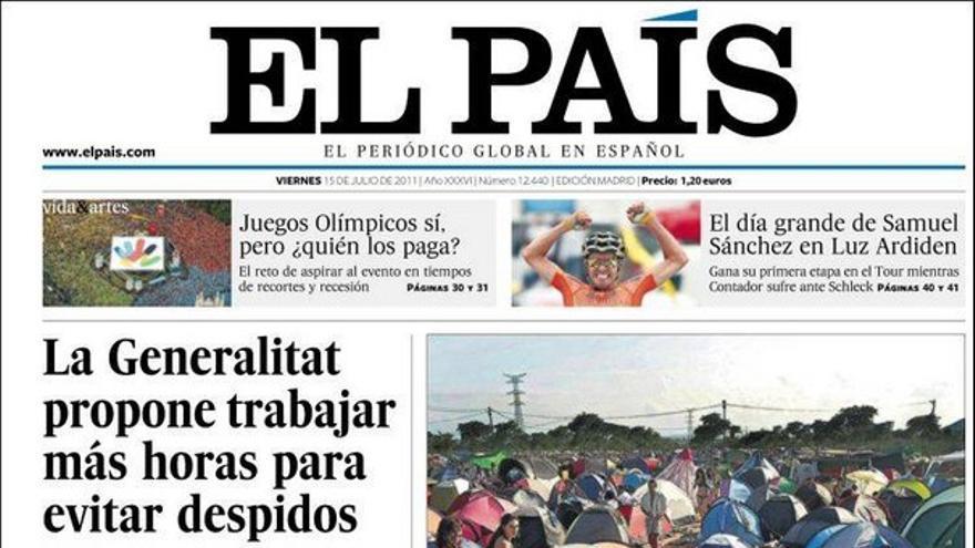 De las portadas del día (15/07/2011) #7
