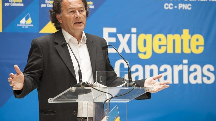 Javier Morales, candidato de CC a las elecciones europeas