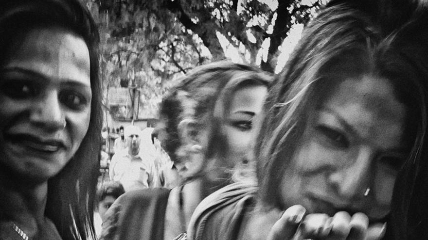 Celebración del reconocimiento del tercer género en Jantar Mantar (Nueva Delhi) / Rafa Gassó