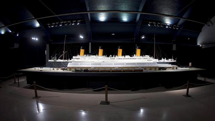 Comienza en China la construcción de una réplica del Titanic a tamaño real