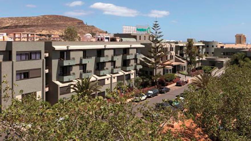 Centro sanitario de Hospiten Sur, ubicado en Playa de las Américas, municipio de Arona