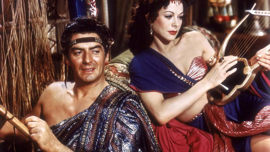 Una escena de la película 'Sansón y Dalila'