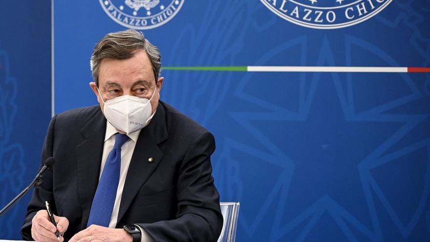 Draghi presenta el plan de recuperación, que determinará el futuro de Italia