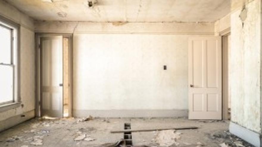 Imagen de un piso que precisa de rehabilitación. Foto: Observatorio Vasco de la Vivienda