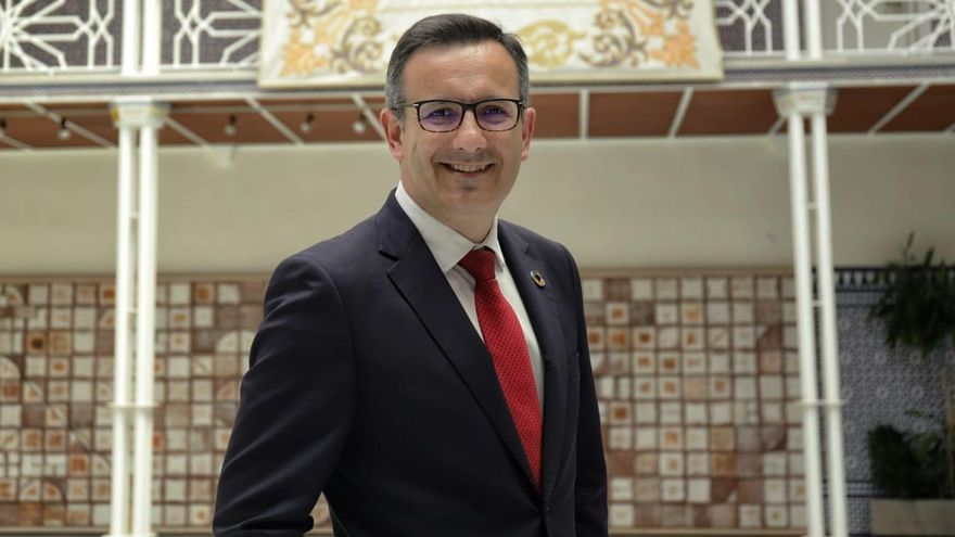 Diego Conesa, candidato del PSOE a la presidencia de la Región de Murcia