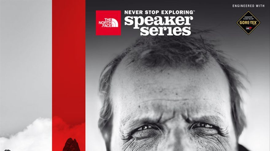 Cartel Speaker Series The North Face 2014, concurso campobase