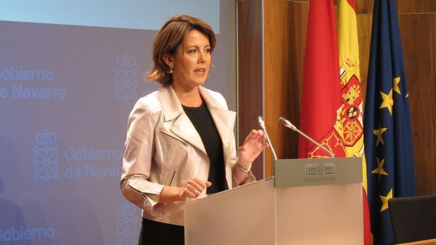 """Yolanda Barcina afirma que no convocará elecciones anticipadas y pide """"cordura"""" al Parlamento"""