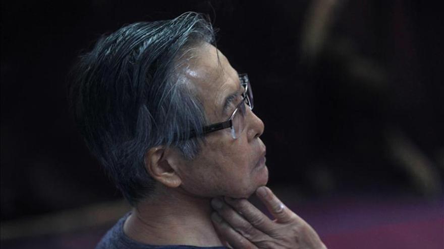 Internan a Fujimori en una clínica de Lima para ser operado de cataratas en uno de sus ojos