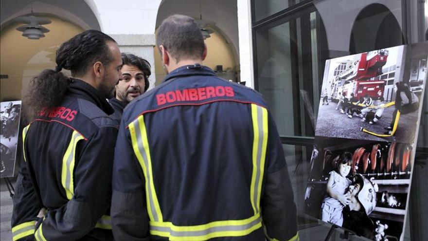 """Los Bomberos madrileños se desprenden de su imagen de """"sex symbol"""""""