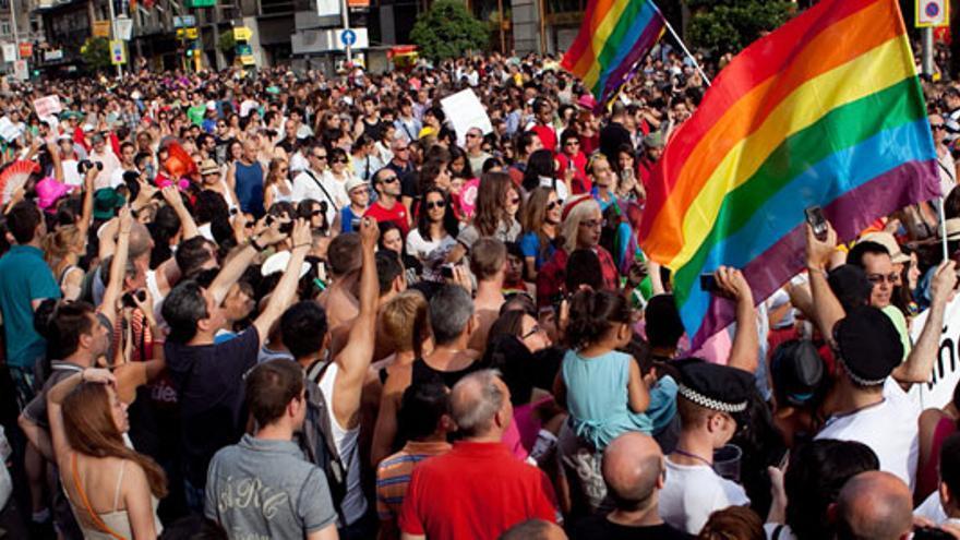 Manifestación del Orgullo Gay en Madrid (MADO)